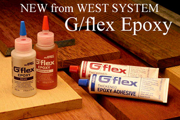 West Sysem Adhesive G/flex, G/5 and Six 10