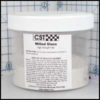 Milled Glass Filler, 1 lb.