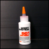 501-8 West System Epoxy-based Liquid Pigment, White, 4 oz.