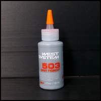 503-8 West System Epoxy-based Liquid Pigment, Gray, 4 oz.