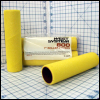 800-2 West System Foam Roller Covers, 2/pkg.