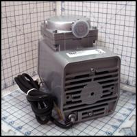 Heavy Duty Vacuum Pump, 1/8 hp, 25.5 in. hg, 1.1 cfm