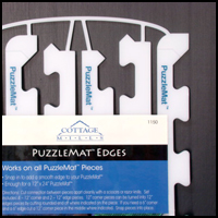Puzzlemat Edges, 12 long, 6/pkg.