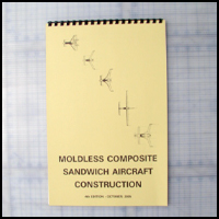 Moldless Composite Sandwich Construction 4th Edition by Burt Rutan