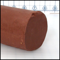 Chavant Molding Clay, Brown, 2.5 in. x 5 in. or 10 in.