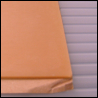 Adhesive Back Sheet Wax, RT to 165 deg. F