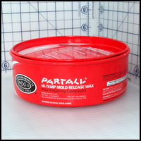 Partall Hi-Temp Mold Release Wax, 12 oz. tin